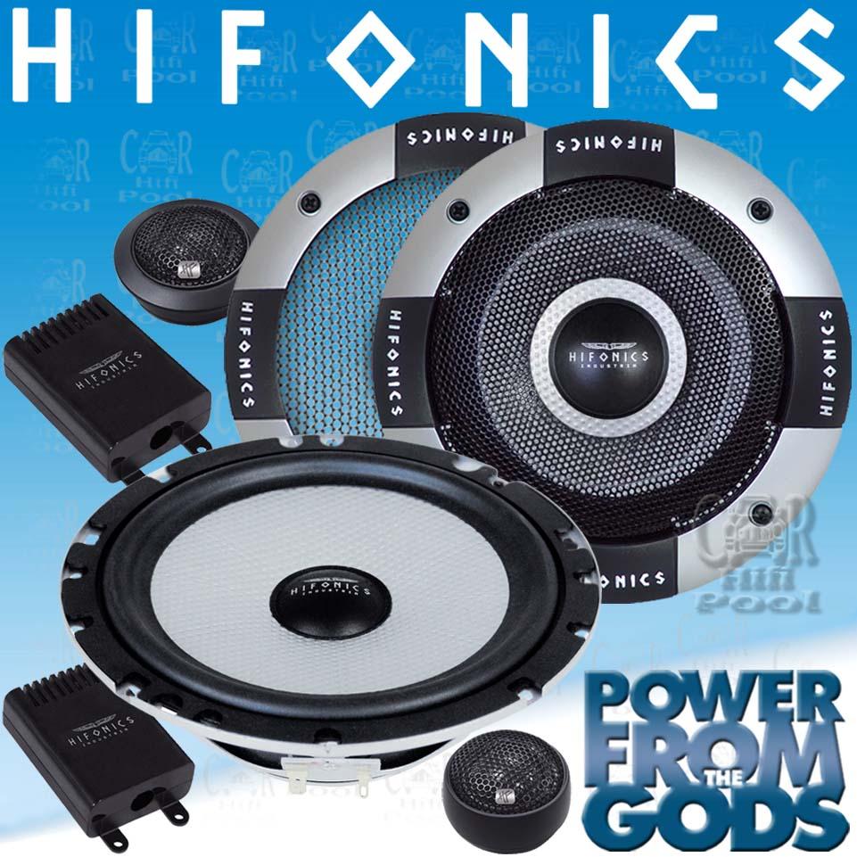 Hifonics HFI 6 2C 2 Wege Kompo Lautsprecher HFI 6 2 C