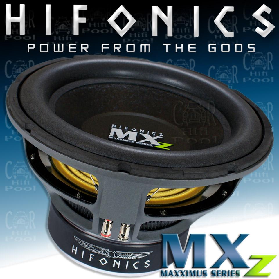 Hifonics MXZ 12 D2 Subwoofer Car & Vehicle Electronics
