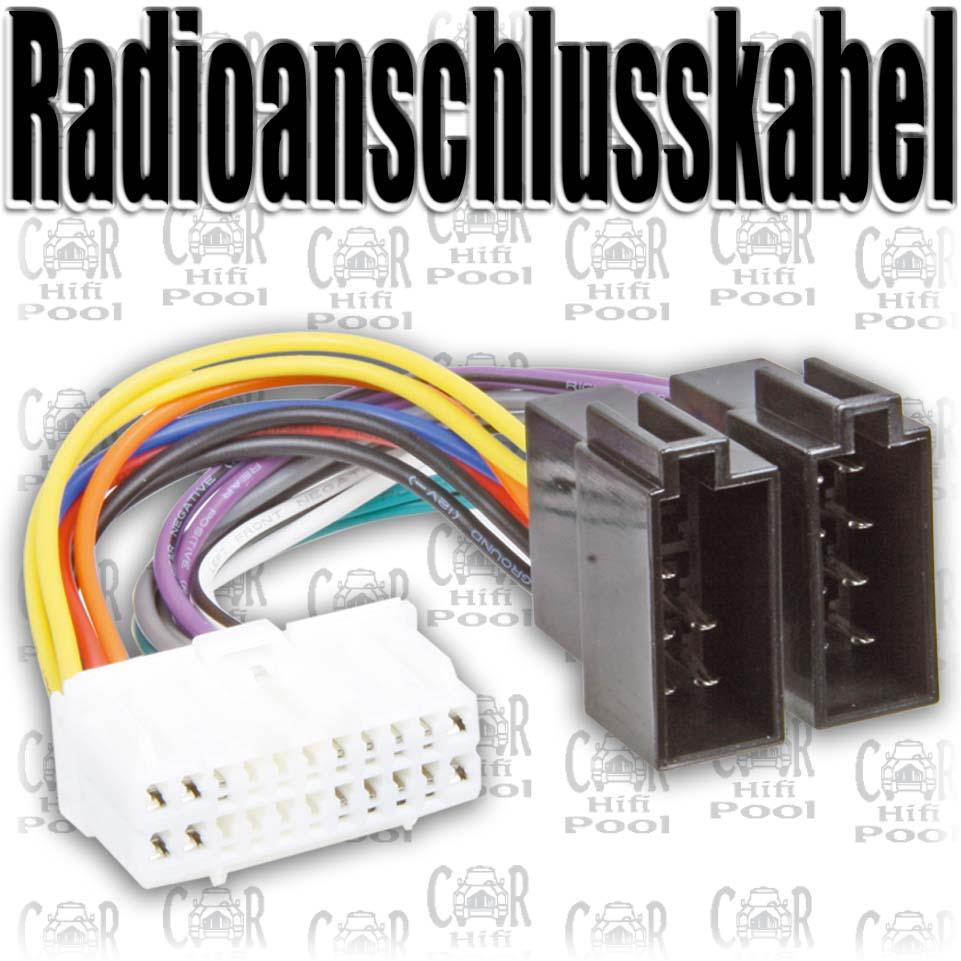 Ausgezeichnet Autoradio Kabel Bilder - Schaltplan Serie Circuit ...