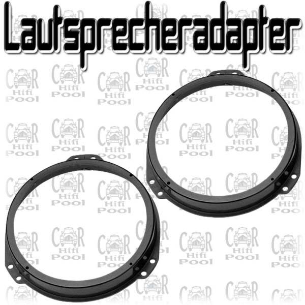 Hifonics WR 165mm Coax Lautsprecher für Opel Zafira Tür v