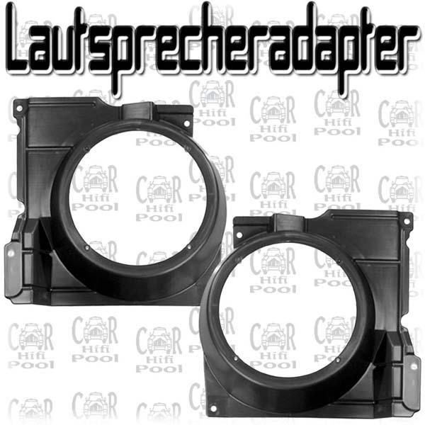 FLI 16,5cm Kompo Lautsprecher für VW Polo 6N Tür v.